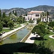 Villa Ephrussi De Rothschild And Garden Poster