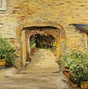Villa In Italy Poster