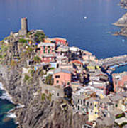 village of Vernazza Poster