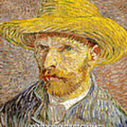 Vincent Van Gogh Quotes 6 Poster