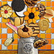 Vincent's Sunflower Cookie Jar Poster