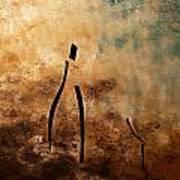 Vino De Arte Moderno Poster by Carmen Guedez