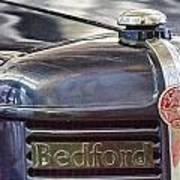 Vintage Bedford Truck Poster