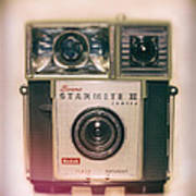 Vintage Brownie Starmite Camera Poster