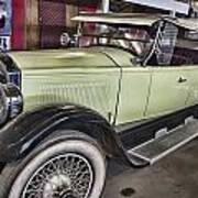 Vintage Bugatti  Poster