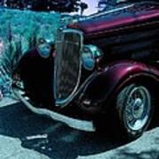 Vintage Ford Car Art II Poster