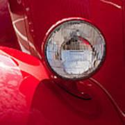 Vintage Car Details 6298 Poster