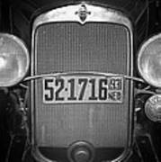 Vintage Chevrolet Grill Poster