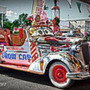 Vintage Chevrolet In Seligman Poster
