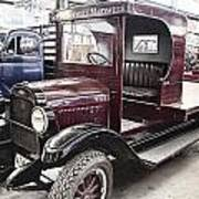 Vintage Chevrolet Pickup Truck Poster by Douglas Barnard