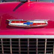 Vintage Chevy Bel Air Poster