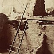 Vintage Cliff Dwelling Poster