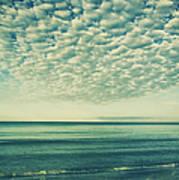 Vintage Clouds Poster