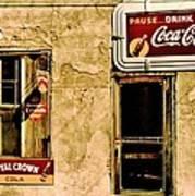 Vintage Colas Poster