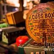 Vintage Cuss Box Poster