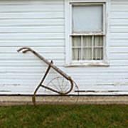 Vintage Farm Tool By Farmhouse Poster