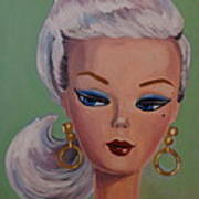 Vintage Fashion Doll Series  Poster by Kelley Smith