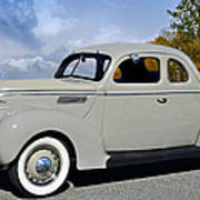 Vintage Ford Poster