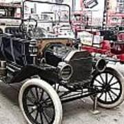 Vintage Ford Vehicle Poster