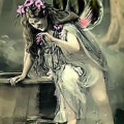 Vintage Garden Nymph Poster
