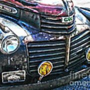 Vintage Gm Truck Hdr 2 Grill Art Poster