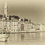 Vintage Harbor Poster