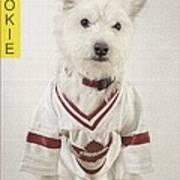 Vintage Hockey Rookie Player Card Poster