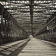 Vintage Iron Truss Bridge Poster