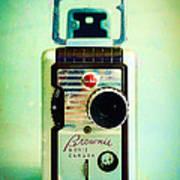 Vintage Kodak Brownie Movie Camera Poster