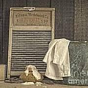 Vintage Laundry Room II By Edward M Fielding Poster