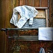 Vintage Laundry Room  Poster