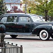 Vintage Lincoln Limo 1941 Poster