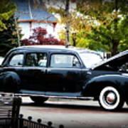 Vintage Lincoln Limo II Poster