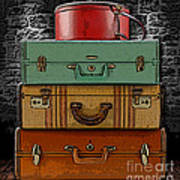 Vintage Luggage Poster
