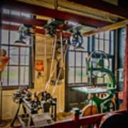 Vintage Michigan Machine Shop Poster