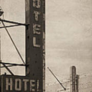 Vintage Neon Poster