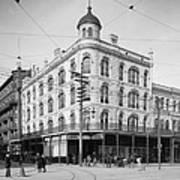 Vintage New Orleans 4 Poster