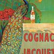 Vintage Poster Advertising Cognac Poster by Camille Bouchet