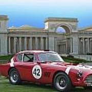 Vintage Race Car No. 42 Poster