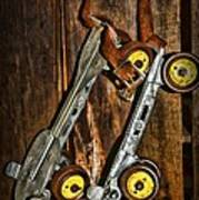 Vintage Roller Skates 5 Poster