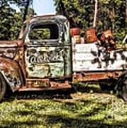 Vintage Rusty Old Truck 1940 Poster