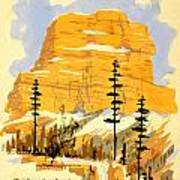 Vintage See America Travel Poster Poster