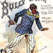 Vintage Sheet Music Cover 1896 Poster