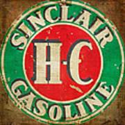Vintage Sinclair Gasoline Sign Poster