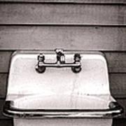 Vintage Sink Poster by Olivier Le Queinec