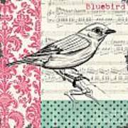 Vintage Songbird 1 Poster