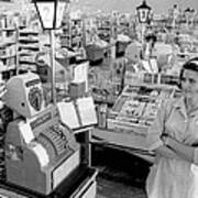 Vintage Supermarket Vintage #04 Fine Art Print Poster by Retro Images Archive