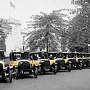 Vintage Taxis 3 Poster