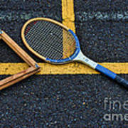 Vintage Tennis Poster by Paul Ward