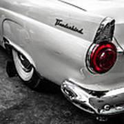 Vintage Ford Thunderbird Poster